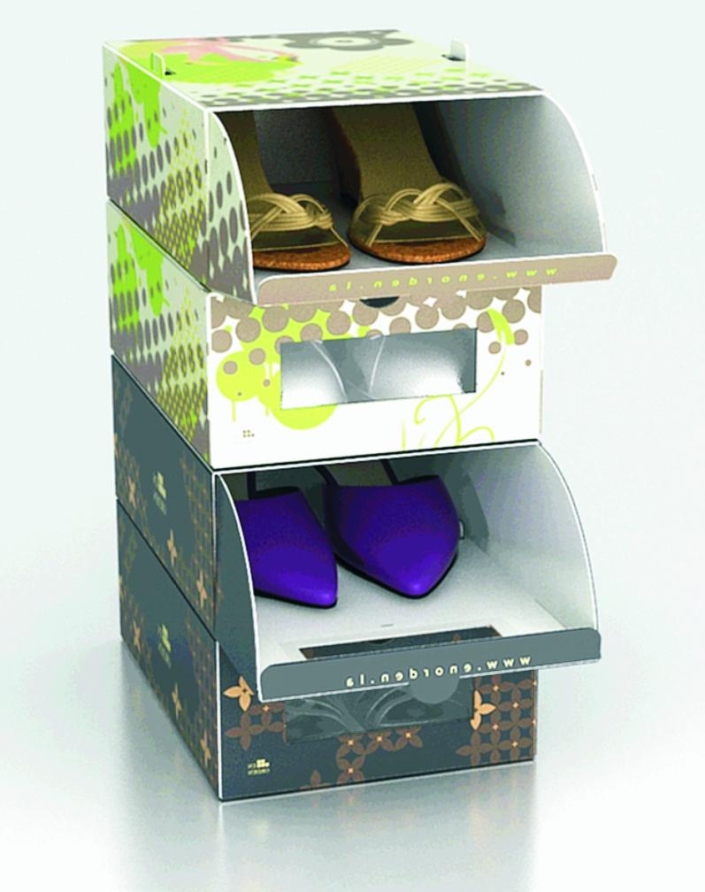 Deco vanguardia 2008 noviembre - Cajas transparentes para zapatos ...