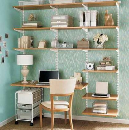 Decoraci n e ideas para mi hogar 9 oficinas muy femeninas for Decoracion e ideas para mi hogar