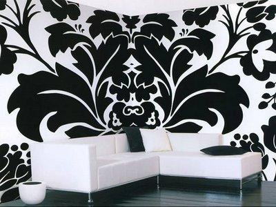 Living en blanco y negro deco vanguardia for Deco sala en blanco y negro