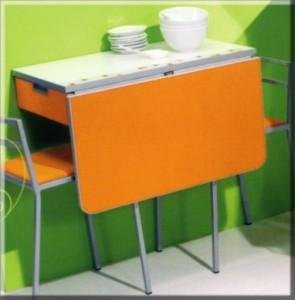 Mesas auxiliares para la cocina deco vanguardia - Mesas de cocina plegables de pared ...