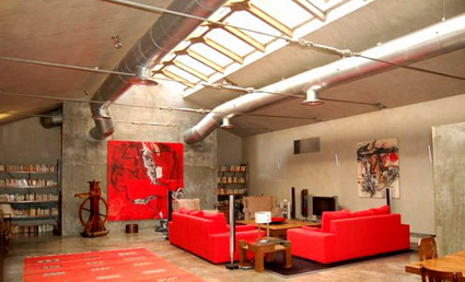 Decoraci n de estilo industrial deco vanguardia - Habitacion decoracion industrial ...