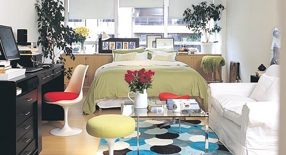 Decorar un monoambiente deco vanguardia for Como decorar tu departamento