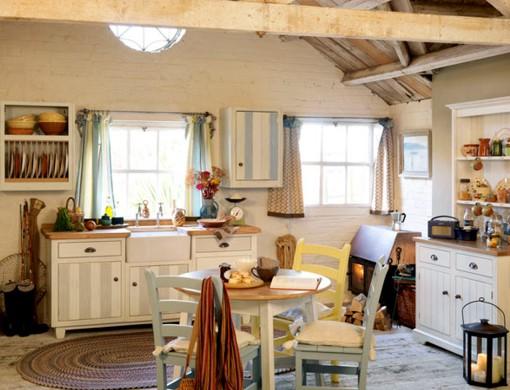 Cocina de estilo antiguo deco vanguardia - Muebles cocina antiguos ...