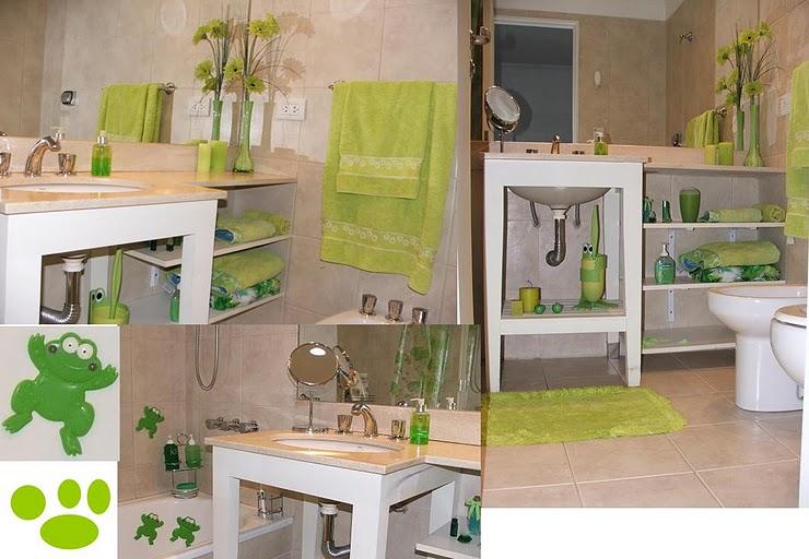 Baño Color Verde Agua:Toques verdes en el baño – Deco Vanguardia