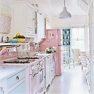 Cocinas Romanticas   Cocinas En Rosa Deco Vanguardia