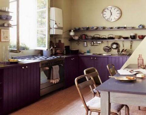Cocinas con aire franc s deco vanguardia for Decoracion de cocinas industriales