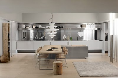 Cocinas americanas con aire moderno deco vanguardia - Fotos de cocinas americanas ...