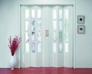 Puertas plegables en el hogar deco vanguardia - Puerta de fuelle ...
