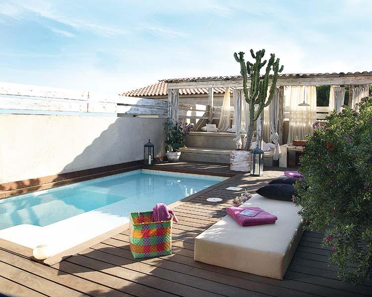 Jardines terrazas piscinas exteriores p gina 16 for Que piscina puedo poner en una terraza