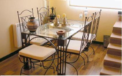 Hierro forjado en el hogar deco vanguardia - Muebles forjados en hierro ...