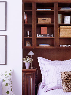 Excepcional Cabecera Con Muebles De Cajones Componente - Muebles ...