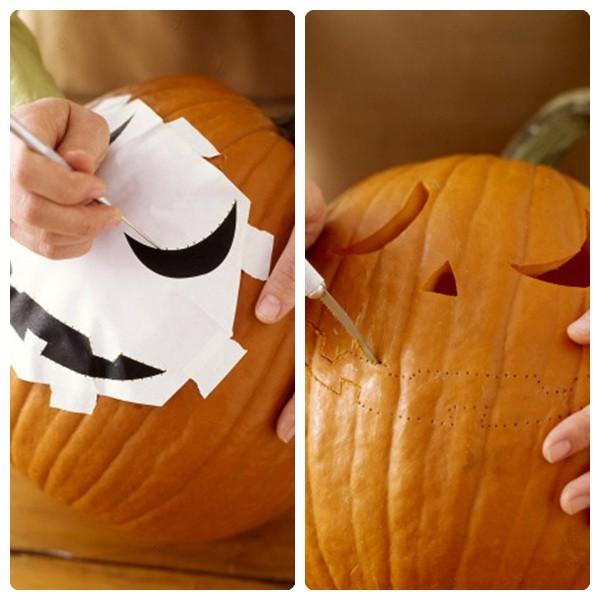 C mo decorar una calabaza para halloween deco vanguardia - Como vaciar una calabaza ...