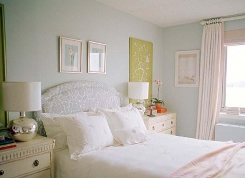 Colores pastel en el dormitorio – deco vanguardia