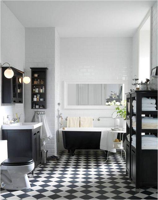 Baños Estilo Vintage:Estilo retro clásico en el baño – Deco Vanguardia