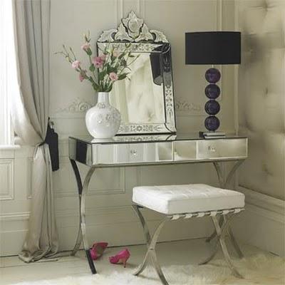 Deco vanguardia muebles for Espejo retro