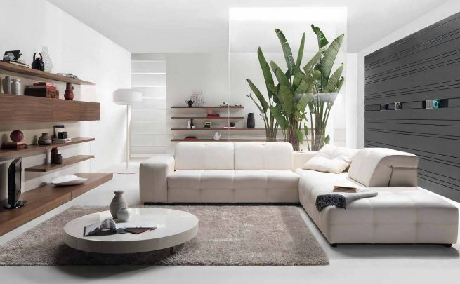 Livings en blanco deco vanguardia for Consejos para decorar un living