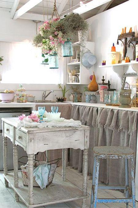 Cocinas en clave shabby chic deco vanguardia - Cocinas estilo shabby chic ...