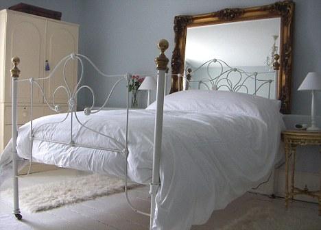 Dormitorios respaldos para la cama deco vanguardia - Cabeceros madera vintage ...