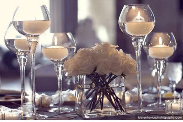 Decorar Copa De Cristal Con Flores