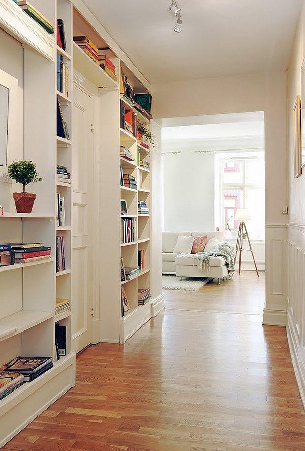Sugerencias para aprovechar el pasillo deco vanguardia - Muebles de pasillo ...