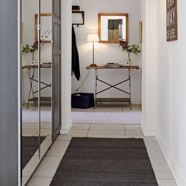 Sugerencias para aprovechar el pasillo deco vanguardia for Espejos para pasillos