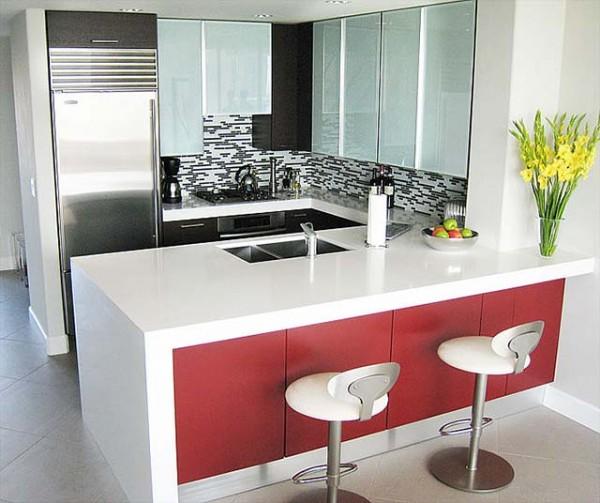 Una barra en la cocina deco vanguardia for Mueble barra cocina