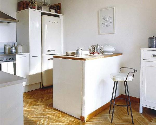 Una barra en la cocina – deco vanguardia