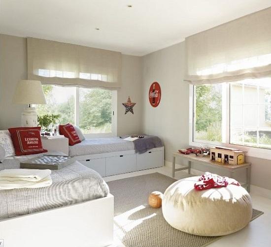Dormitorios infantiles para compartir deco vanguardia - El mueble habitaciones infantiles ...