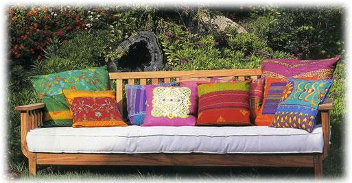 A decorar con almohadones deco vanguardia Almohadones exterior