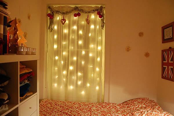 Deco vanguardia iluminacion for Cortinas con luces