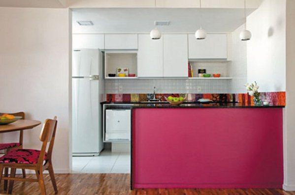 Deco vanguardia cocina - Cocina rosa ...