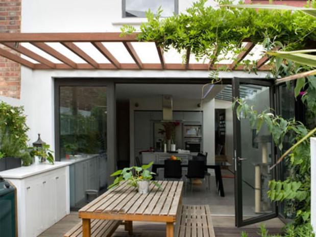 Decoracion De Baños Para Quinchos:misma cocina tanto para el interior como para el exterior