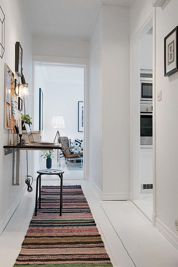 Pasillos sugerencias para aprovechar los espacios de paso deco vanguardia - Alfombras para pasillos largos ...