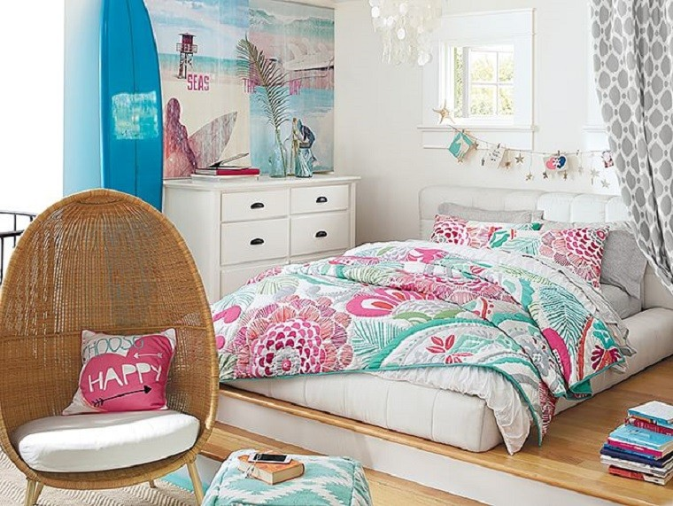 Ideas para dormitorios juveniles femeninos deco vanguardia - Decoracion dormitorios juveniles femeninos ...